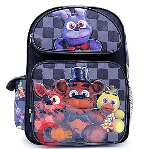 """Five Nights at Freddy/'s 16/"""" Large School Backpack Boy Backpack"""