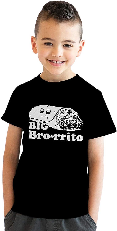 Youth Big Bro-rrito Tshirt Funny Brother Cinco De Mayo Tee for Kids