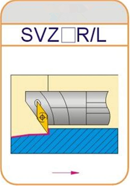 ZIYI S20R-SVZBR11 ndex Internal Lathe Turning Holder For VBMT Inserts