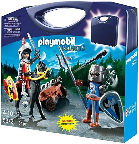 Playmobil Difficile À Trouver - 5972-Valisette Chevaliers