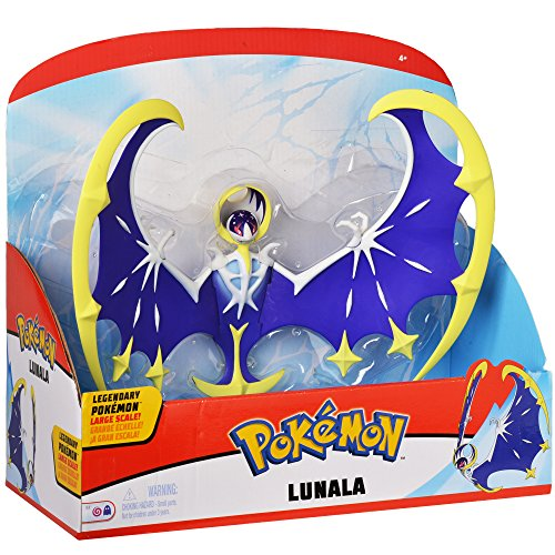 (Pokemon 12 Inch Scale Articulated Action Figure - Legendary Lunala)