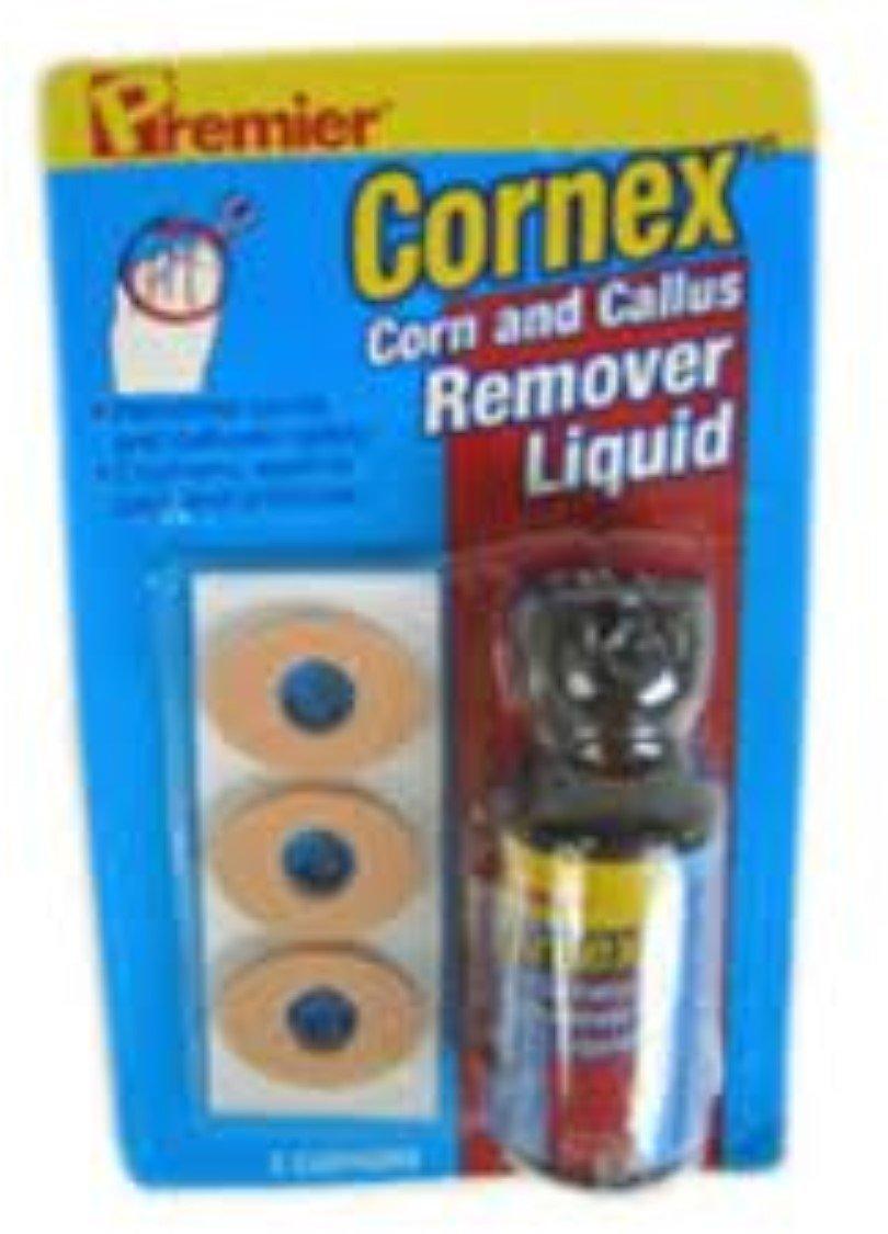 Premier Cornex Corn and Callus Remover Liquid 0.5 oz (Pack of 8) by premier