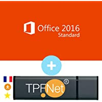 Microsoft® Office 2016 Standard 32/64 Bits - Clé de Licence Originale avec Clé USB de - TPFNet®