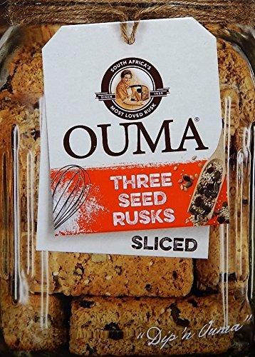 Ouma Sliced 3 Seed Rusks 450g (2 Pack) by Ouma
