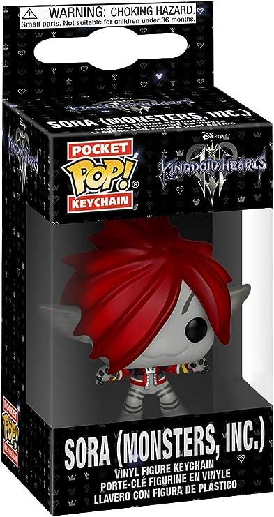 Amazon.com: Funko Pop Keychain: Kingdom Hearts 3 - Sora ...