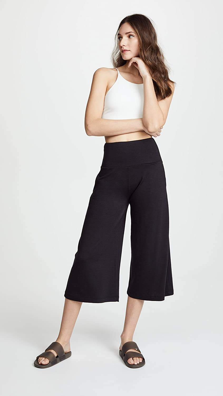 Onzie Womens Wide Leg Crop Sweatpants