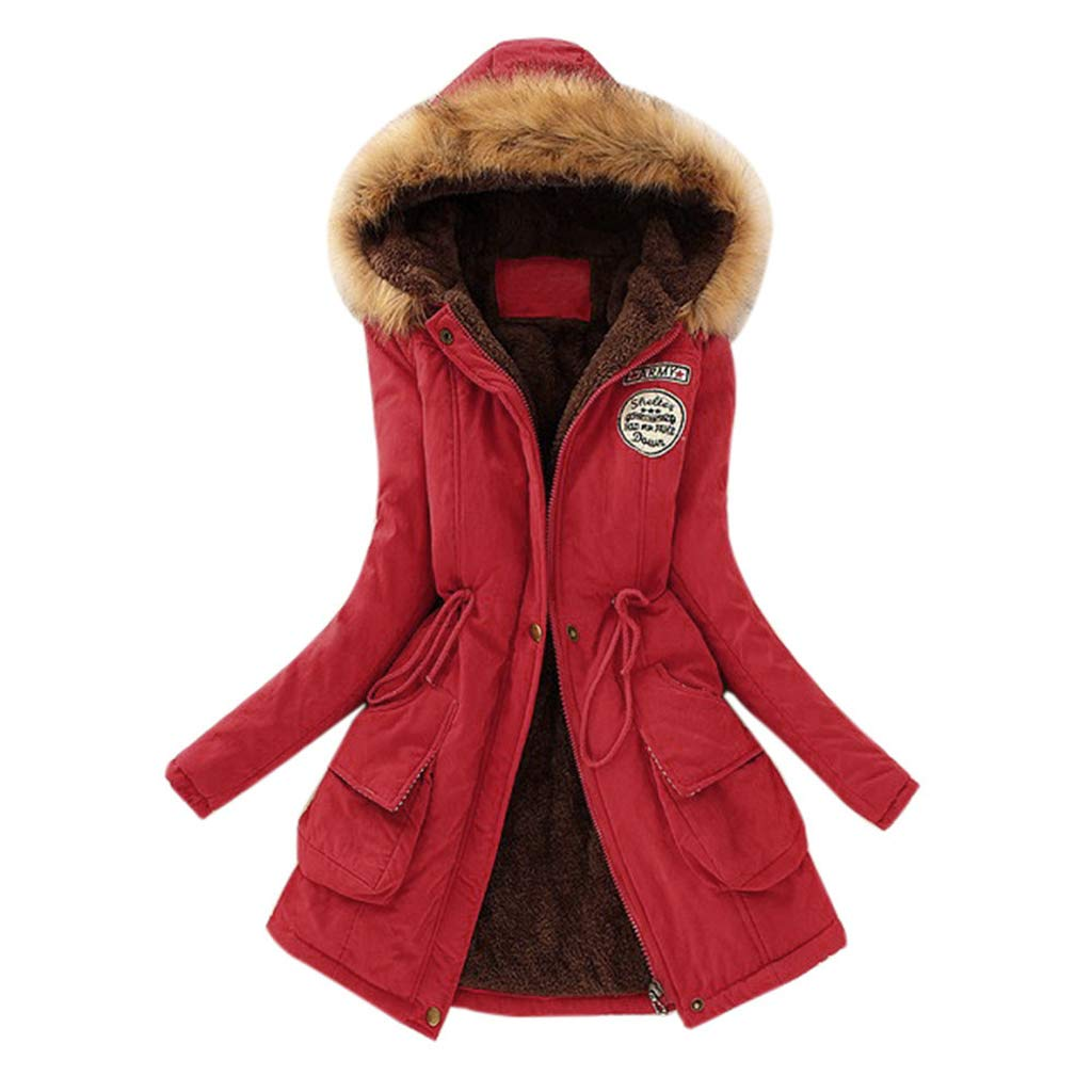 Amazon.com: Besde Womens Clearance Winter Parka Outwear ...