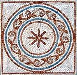 16x16'' Accent Marble Mosaic Art Tile Home Decor Insert