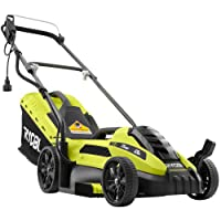 Deals on Ryobi 13 in. 11 Amp Electric Push Mower Pre-Owned