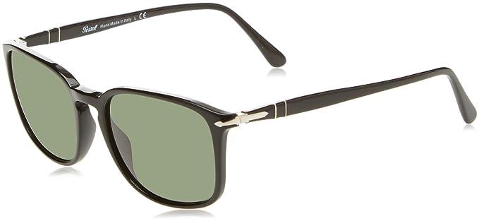 Persol 3158, Gafas de Sol Unisex-Adulto, Black 95/31, 56