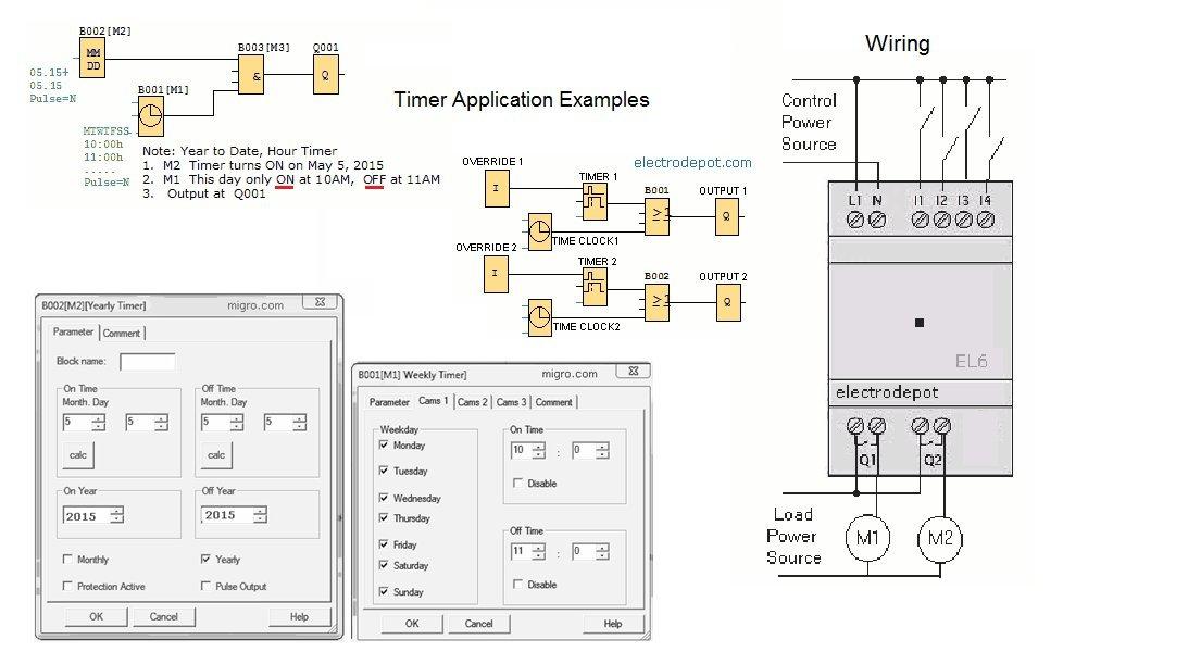 61uNxxBbkqL._SL1093_ amazon com mini programmable control relay 12v 24v plc, dc 4  at readyjetset.co