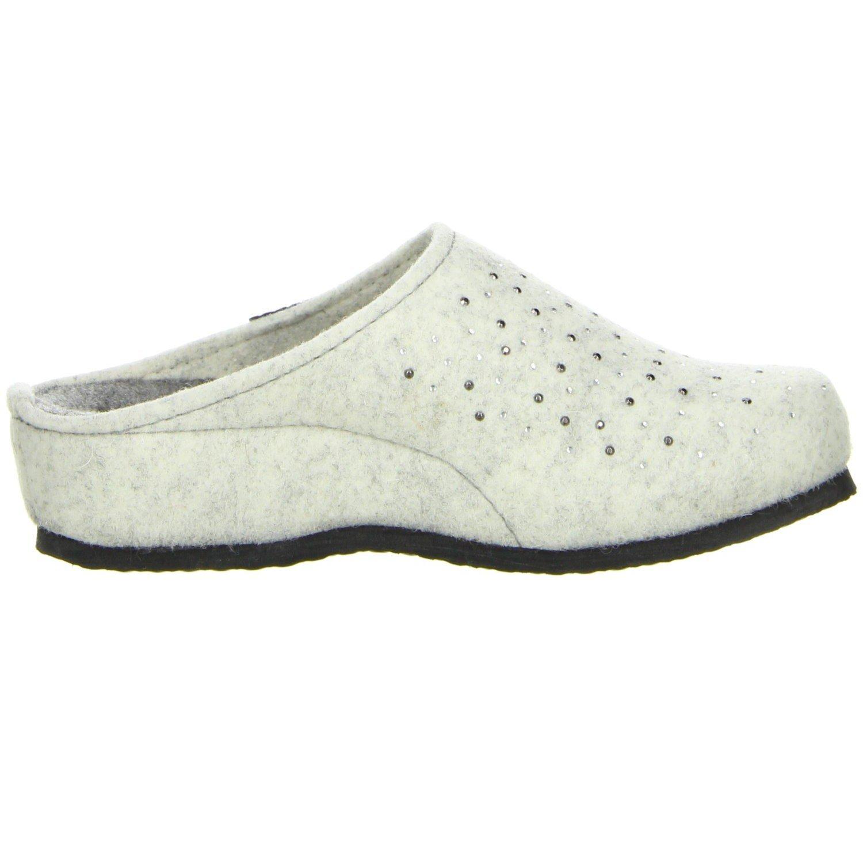 TOFEE Damen 74-101 Nieten Pantoffeln, Weiß (Weiß), 36 EU