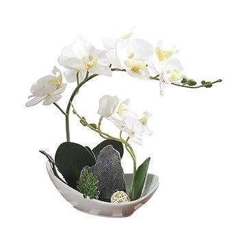 Urijk Kunstliche Blumen Topfe Pflanzen Kunstpflanze Simulation Berg