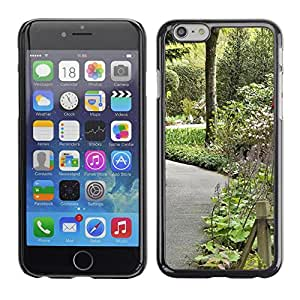 LECELL -- Funda protectora / Cubierta / Piel For Apple iPhone 6 Plus 5.5 -- Plant Nature Forrest Flower 106 --