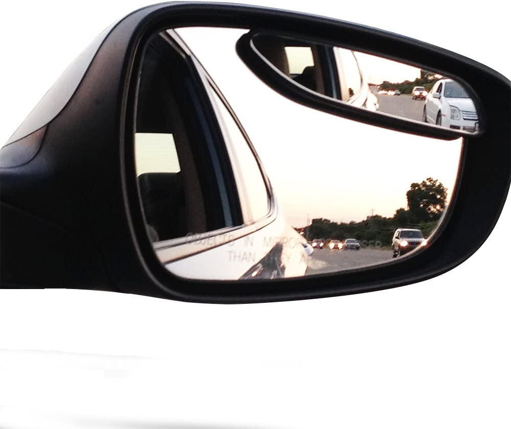 Blind Spot Mirrors. long design Car Mirror for blind side by Utopicar for traffic safety. Door mirrors for great rear view! (2 pack): Automotive