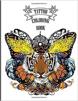 Tattoo Coloring Book Creative Body Art Star Books De Stress Artist 9781519706638 Amazon