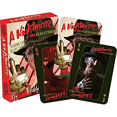 Aquarius Nightmare on Elm Street Playing Cards: Toys & Games