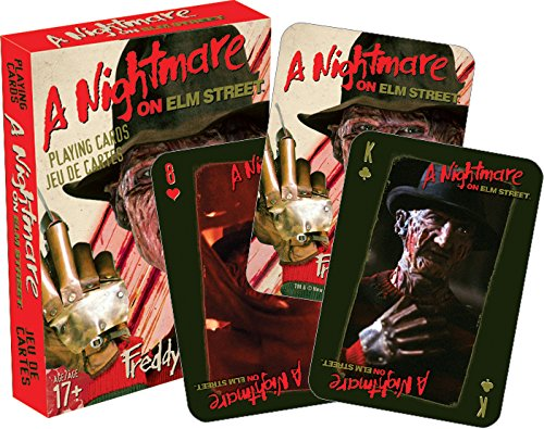 Aquarius Nightmare on Elm Street Playing Cards from Aquarius