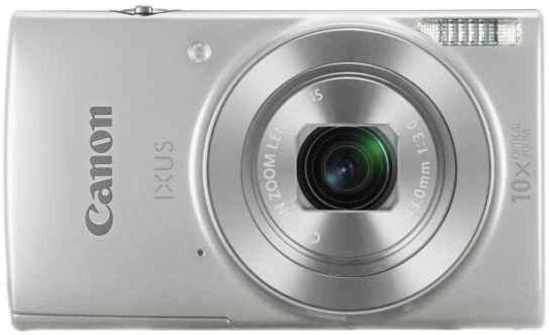 Canon Ixus 190 Digitalkamera 2 7 Zoll Silber Kamera