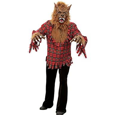 Amazon.com: Adult Werewolf Halloween Costume: Clothing