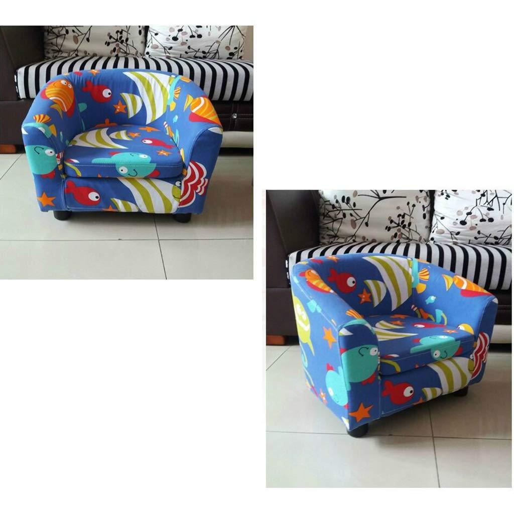 Amazon.com: Sofá infantil lavable y pequeño, sillón de ...