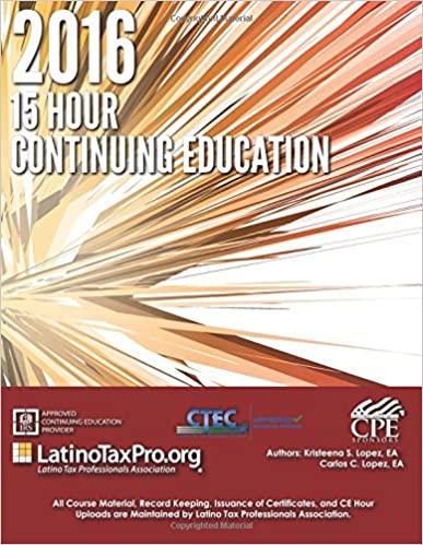 Book 2016 15 Hour Continuing Education