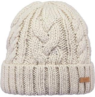fe34cbdb6ea Barts Hats Clara Chunky Knit Beanie Hat - Navy Blue  Amazon.co.uk ...