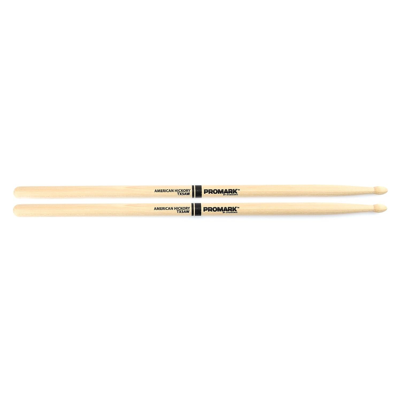 Promark TX5BW American Hickory Wood Tip, Single Pair