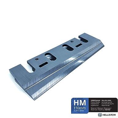 10 St/ück HM Hartmetall Wendemesser Hobelmesser f/ür G/ÜDE Q9 Elektro-Hobel HO 82-850 58118