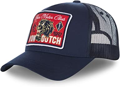 Von Dutch Mujeres Gorras / Gorra Trucker Tiger: Amazon.es: Ropa y ...