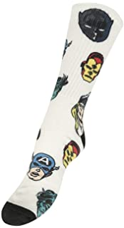 Vans x Marvel Crew Sock (Darkest Spruce) Mens Marvel Comics Socks