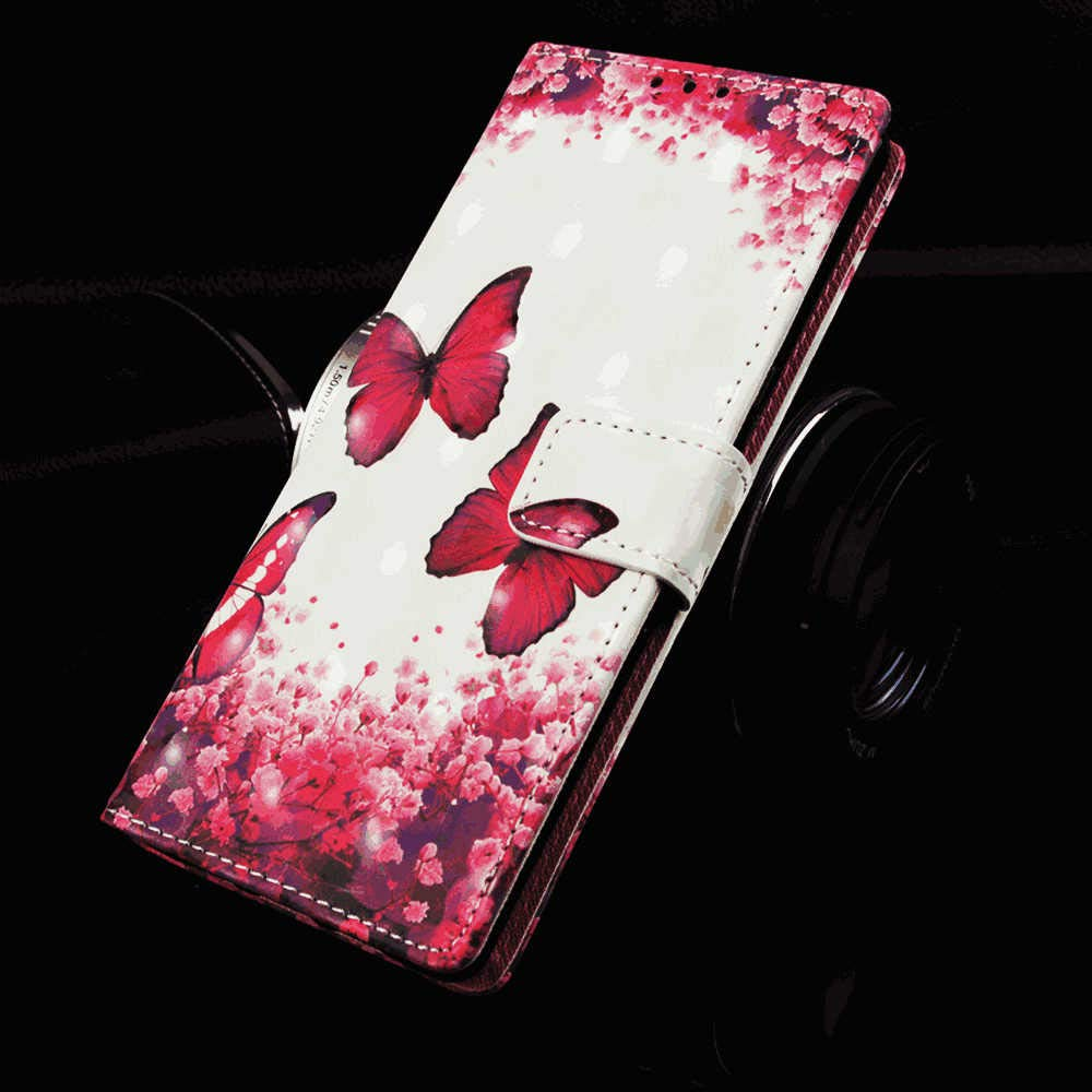 Cover for Leather Premium Business Wallet case Card Holders Kickstand Flip Cover Huawei Mate20 Flip Case