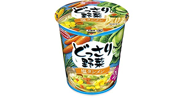 AceCook Vegetables Salt Tanmen 60g × 12 Japan Cup Noodles: Amazon.es: Alimentación y bebidas
