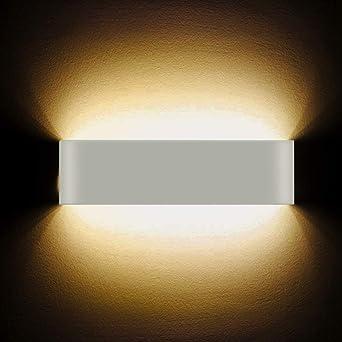 LED Applique murale 12W haute Lumineuse Applique Murale Intérieure ...