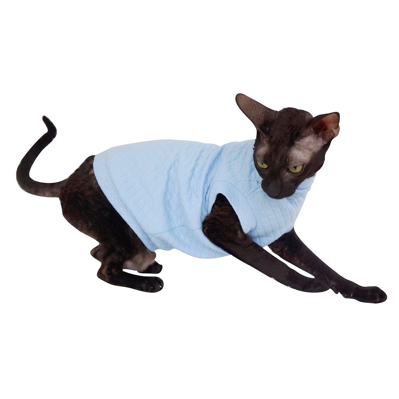 L Kotomoda ropa para gatos capucha New Pajamas
