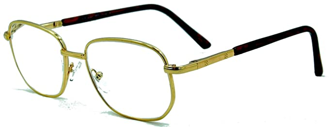 99da7b124e Amazon.com  Super Strength III Extra Strength Reading Glasses gold ...