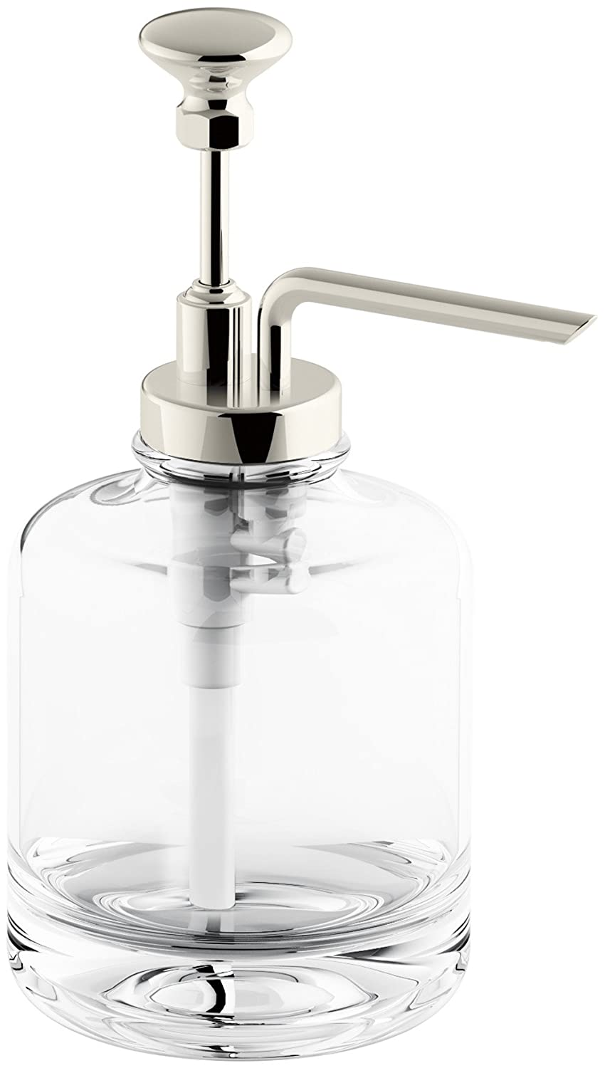 amazoncom kohler k 98630 cp artifacts soap dispenser assembly polished chromes home improvement