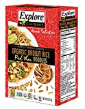 EXCUSN, Explore Cuisine Organic Brown Rice - Pad Thai Noodles - Case of 6 - 8 oz. - Pack of 6