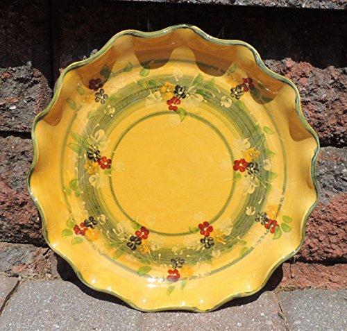 Souleo Provence Terre e Provence Pottery - Scalloped Tart Dish 8.7