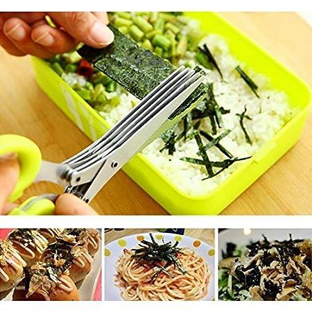 厨房神器!剪葱,香料 整齐美观又方便!附送清洗小刷子