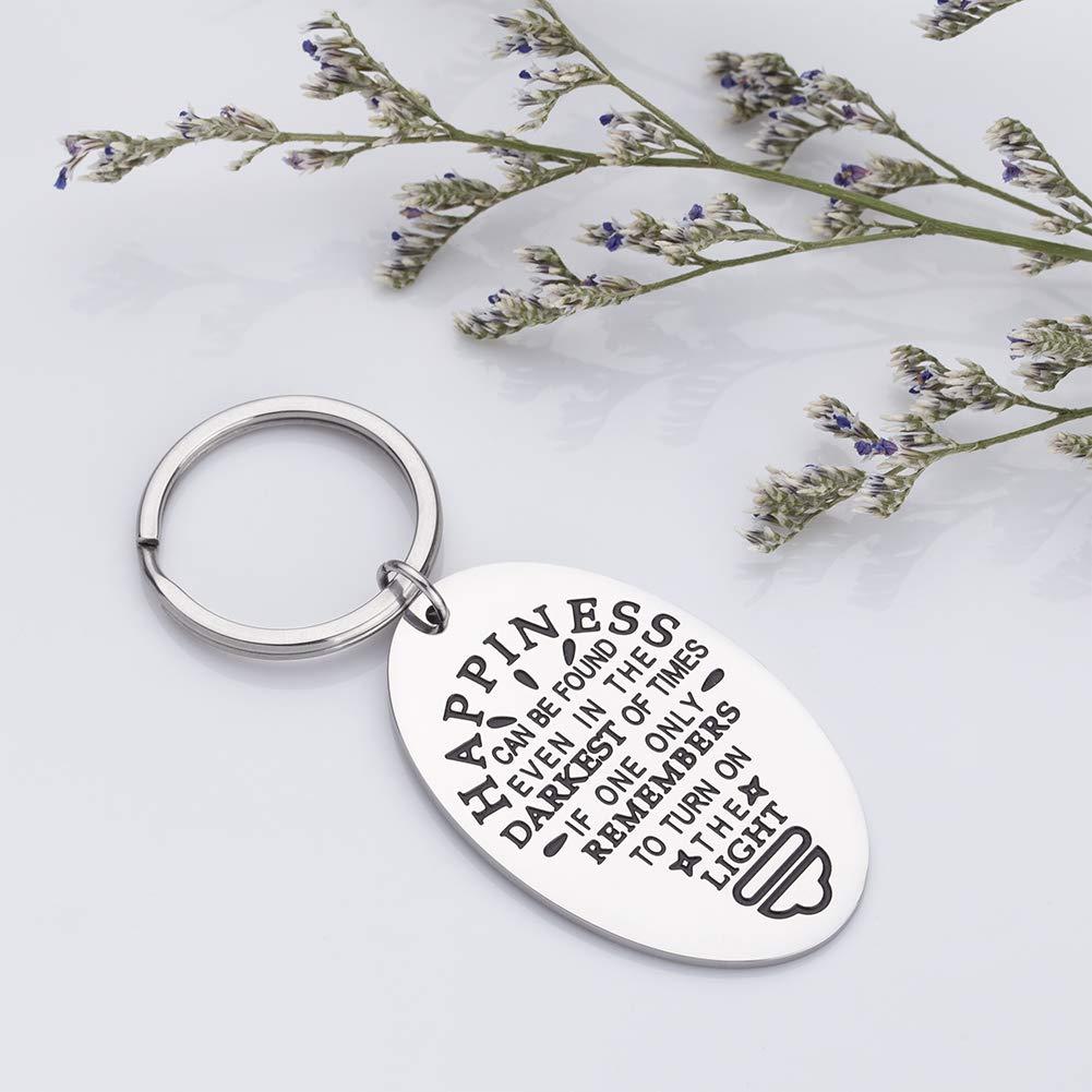 Amazon.com: Regalos inspiradores para mujeres llavero, la ...