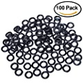 "Tbuymax Wacky Worms O-Rings for Senko & Stick soft Baits (100 Pcs for 4&5"" Senkos) by Tbuymax"