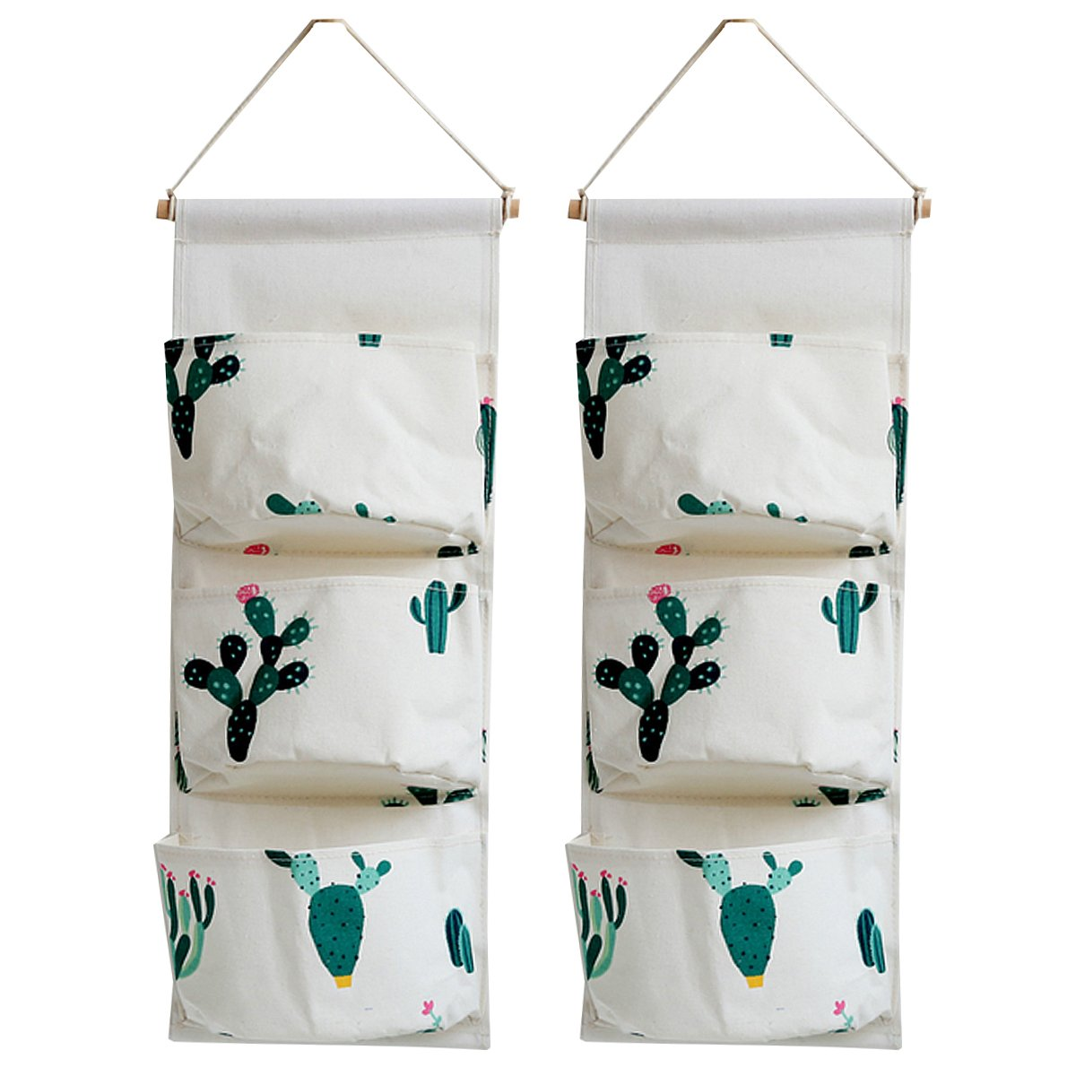 Mily Over The Door Closet Organizer 2 Packs Wall Hanging Storage Bags