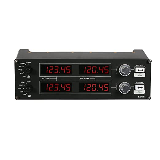Buy Saitek PC Pro Flight Radio Panel Online at Low Prices in India