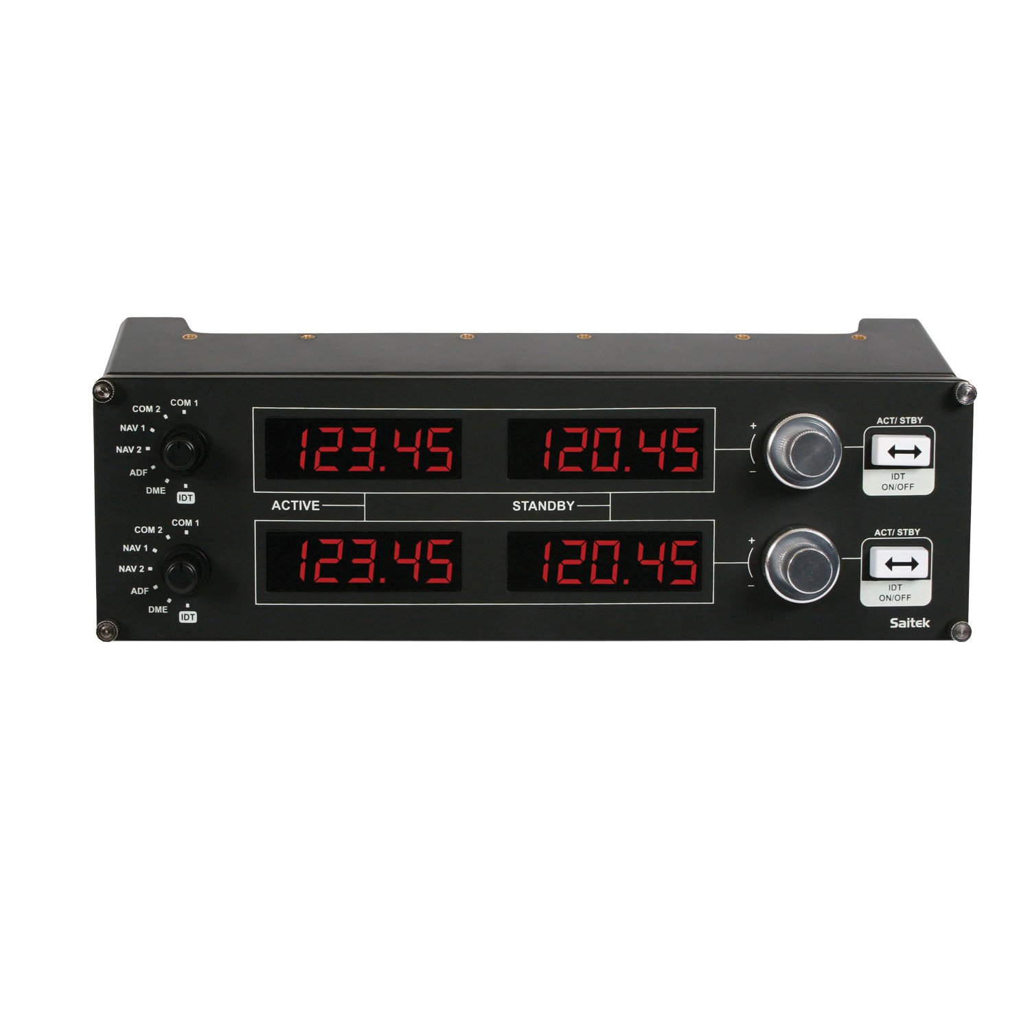 Saitek PZ69 Pro Flight Radio Panel Accessoire pour jeu de PC Pro Flight Yoke product image
