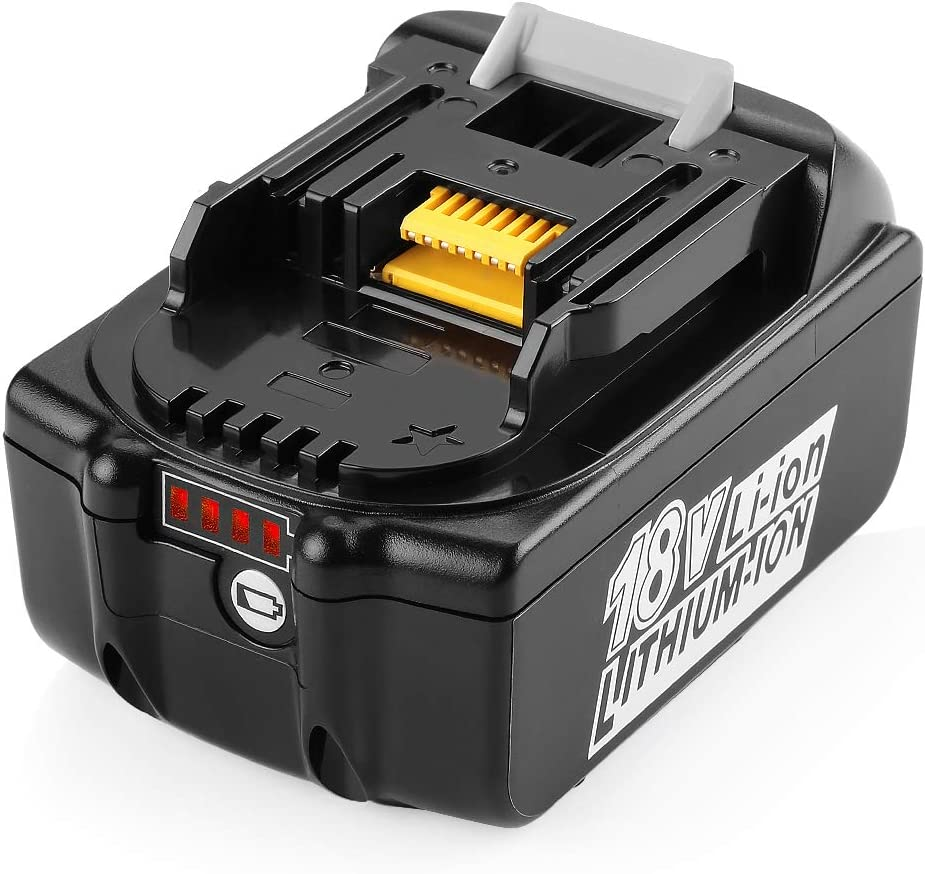 ANTRobut 18V 5.0Ah LXT Battery Replacement for Makita 18 Volt Battery BL1830 BL1840 BL1850 BL1860 LXT-400 BL1815 BL1845 Lithium Battery