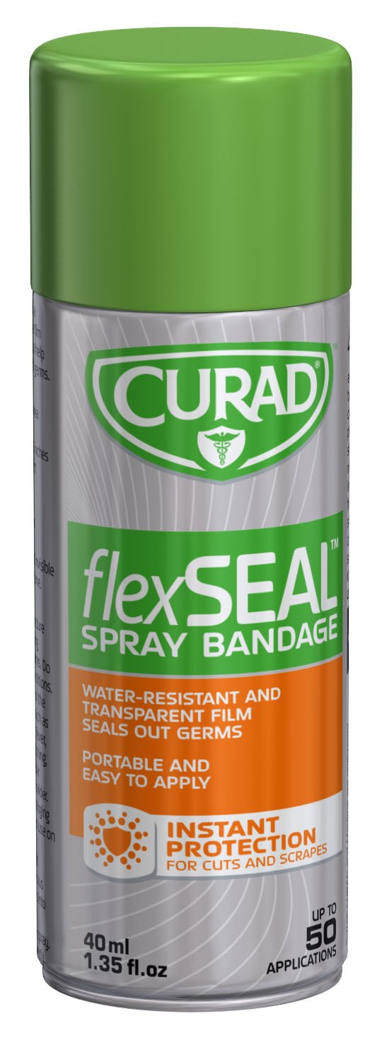 Curad CUR76124 Flex Seal Bandage, 40 mL (Pack of 24)