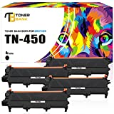 brother to 450 toner - Toner Bank 4 Pack Compatible for Brother TN420 TN450 TN-450 Toner Cartridge for Brother HL-2280dw HL-2270dw MFC 7860DW MFC-7860DW MFC 7360n MFC-7360n HL-2240 HL2230 DCP-7065dn Intellifax 2840 Printer