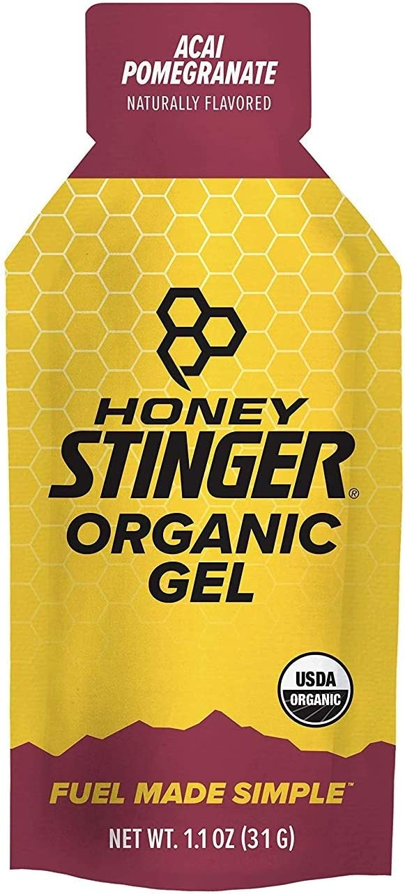 Honey Stinger Food Org Acai-Pom Gel, 1.1-Ounce (Packaging may vary), Pack of 24