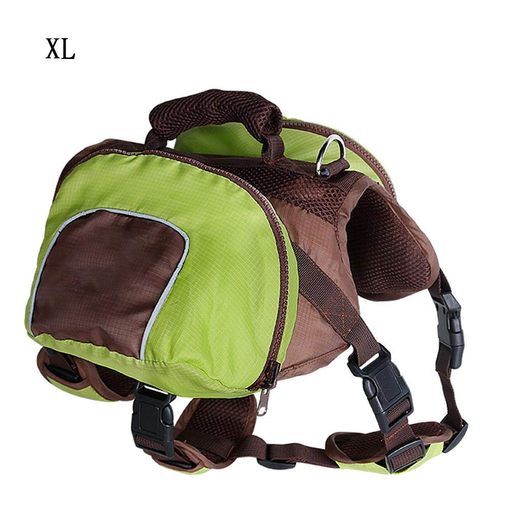 Green L Green L ZIOFV Package Pet Outdoor Travel Bag Dog Backpack Foldable Bags Large Capacity Bag Carriers Food Carrying Bag for Traveling Hiking